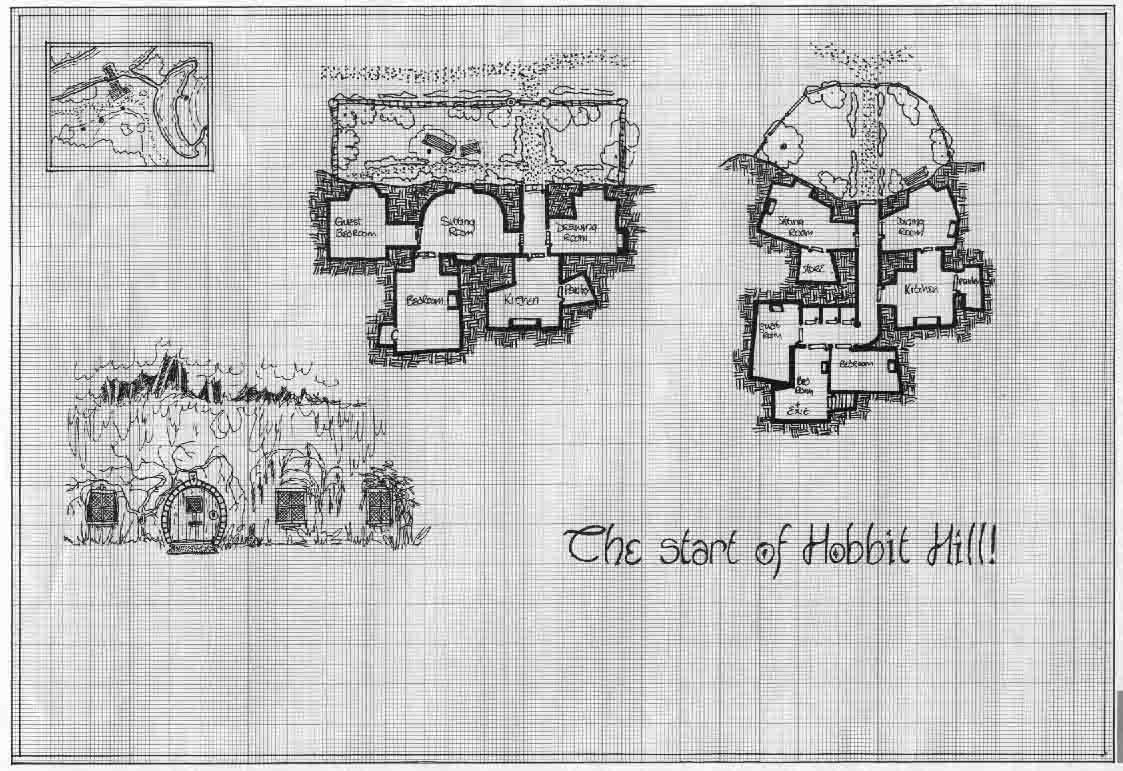 Hobbit Garden - Earth House Main